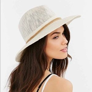 Urban Outfitters Ecote Woven Rope Floppy Sun Hat